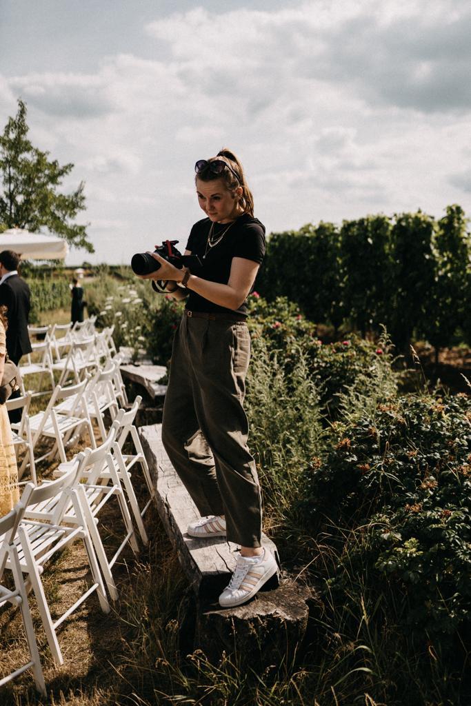 Franzi Lange als Hochzeitsvideograf in Mannheim