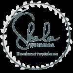 Skala Weddings logo Blau